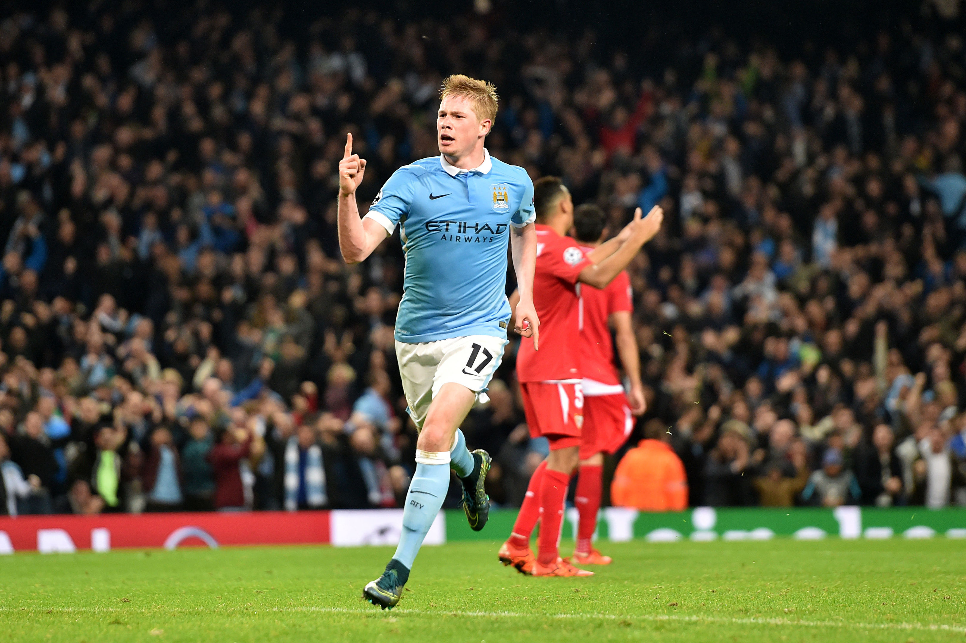 De Bruyne netted City's winner (Martin Rickett/PA Wire)