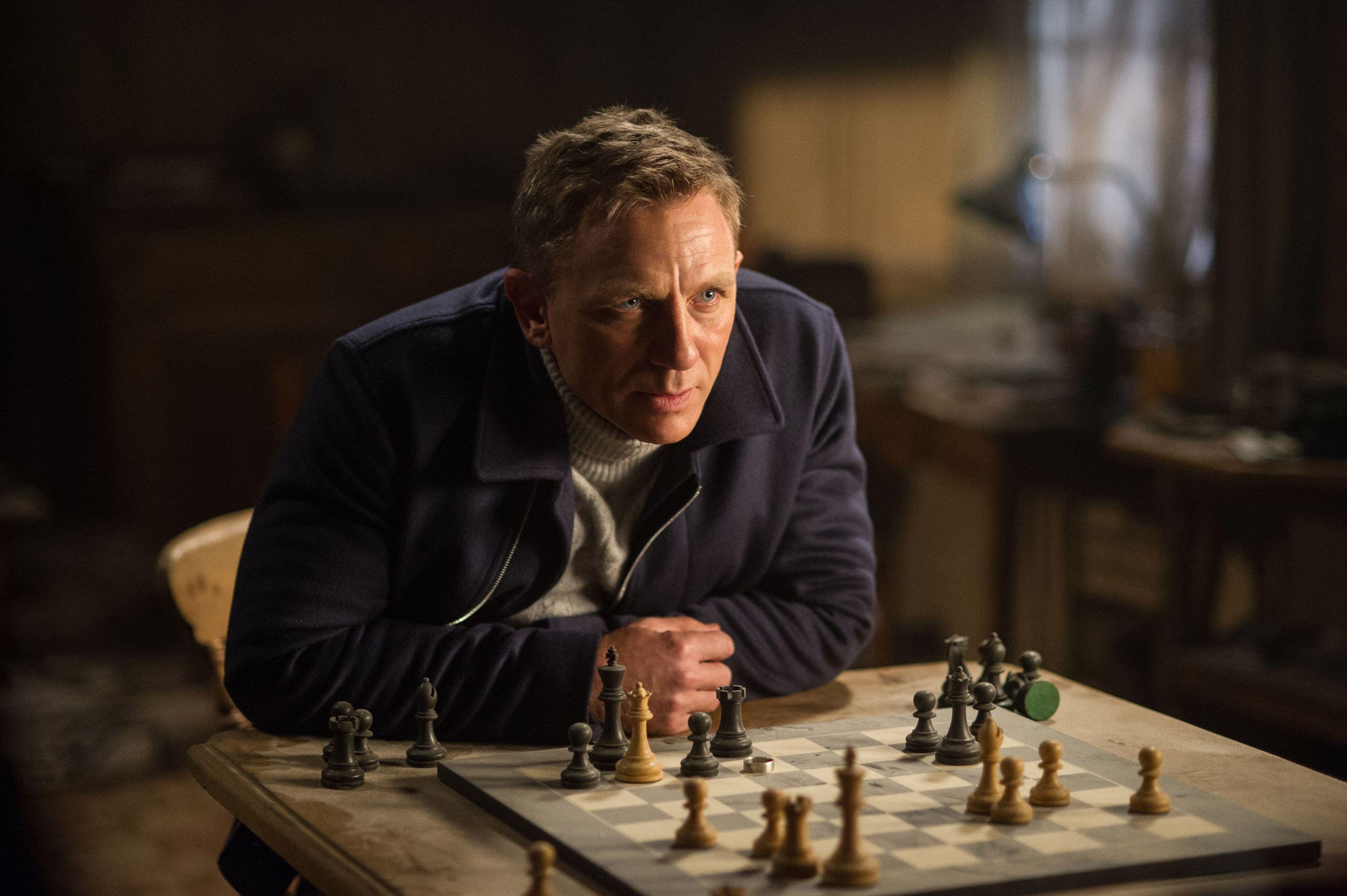 Daniel Craig as James Bond (PA Photo/Sony)