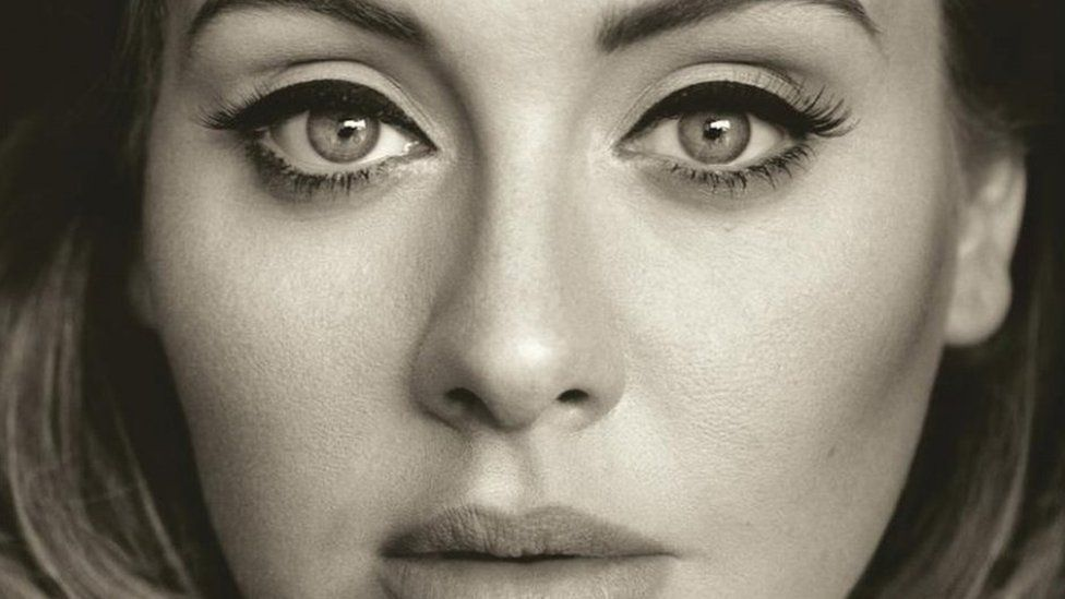 Adele's album cover for '25'