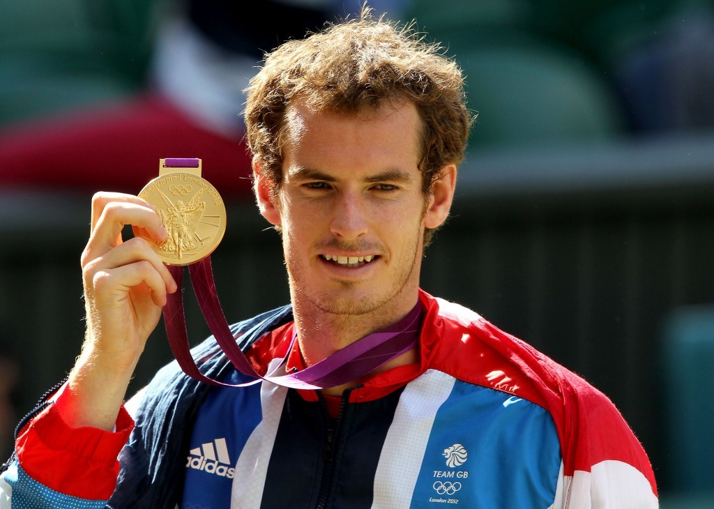 Andy Murray wins Olympic Gold (Andrew Milligan/ PA)