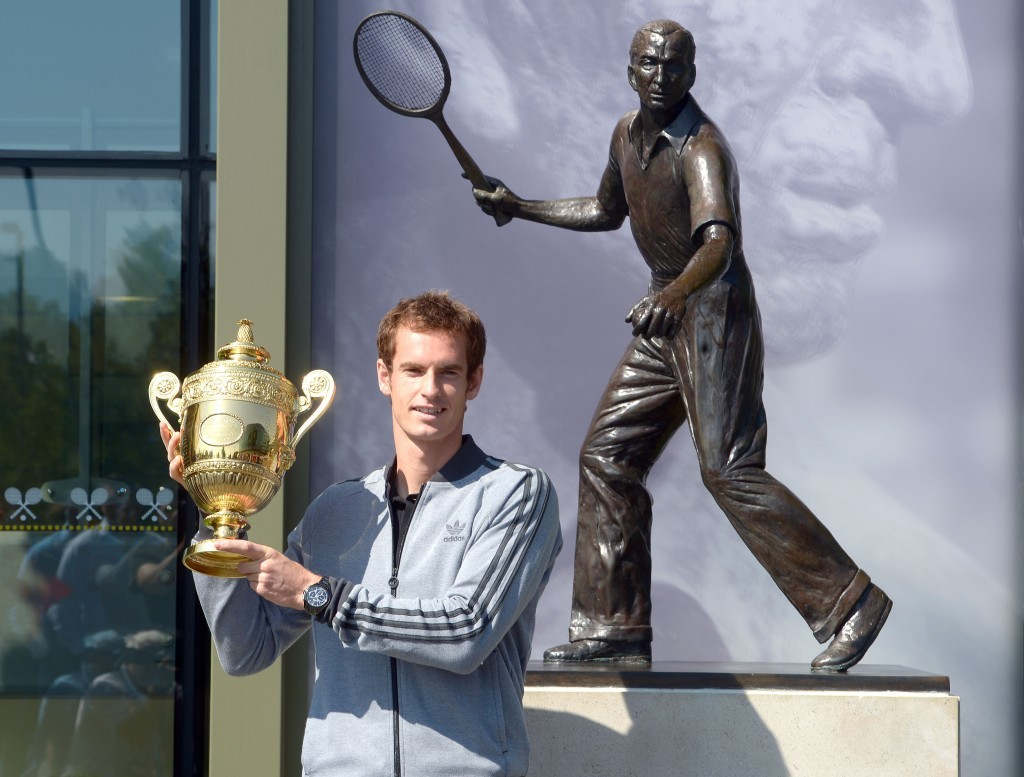 Andy Murray: Wimbledon champion (Adam Davy / PA Archive)