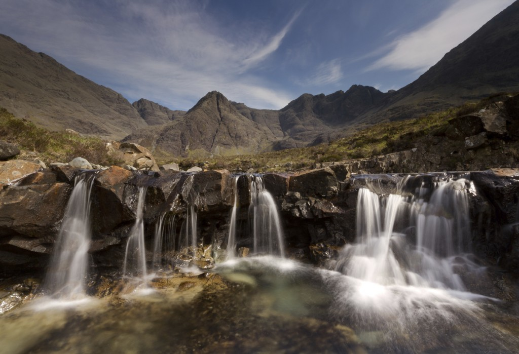 Skye Trail - Aimed at more adventurous walkers, this 80-mile route takes in part of the Trotternish Ridge and passes benrath the Cuillin (Getty Images)