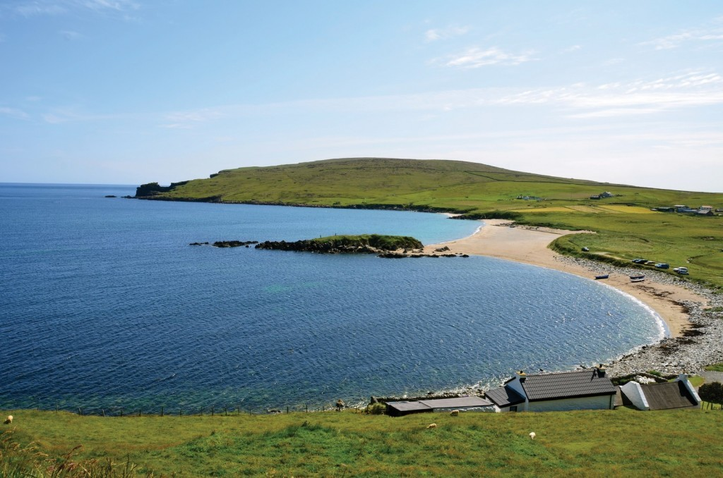 Unst Island Trek - There are 60 miles of circular and cross country walks to discover on the Shetland Isle, including places to see seals.