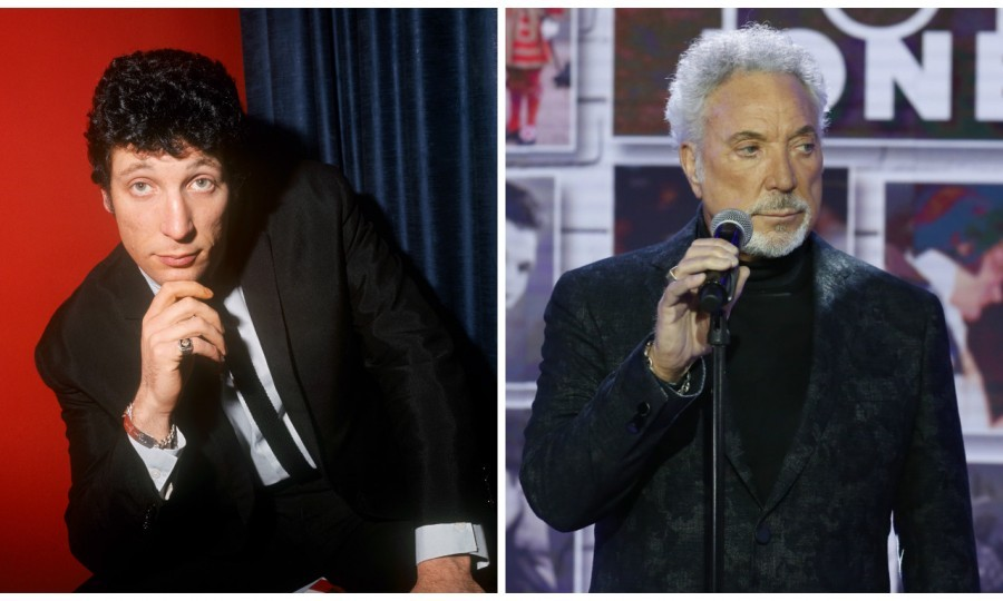 Sir Tom Jones then & now (PA Wire & Getty Images)