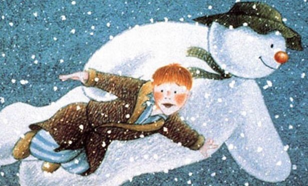 Still from the film 'The Snowman''