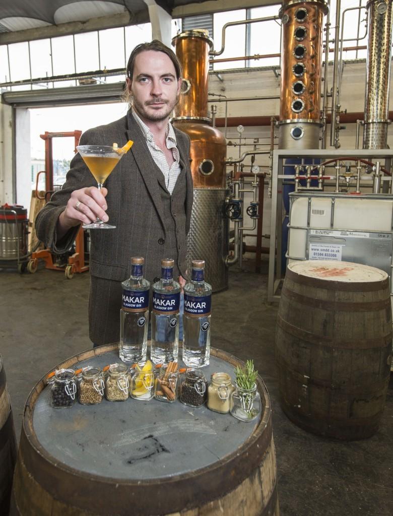 Glasgow Distillery Company ambassador David Thompson (James Williamson)