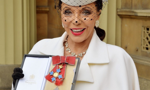 Dame Joan Collins (PA Wire)
