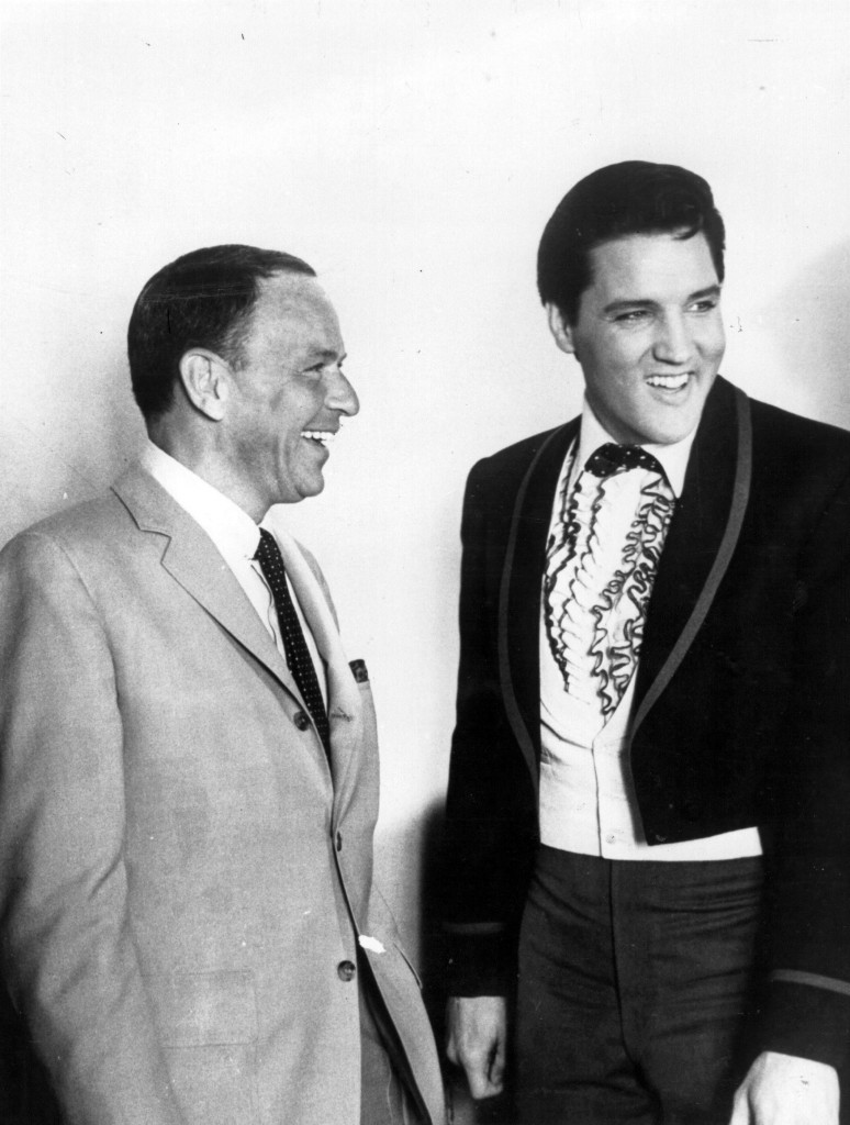 Sinatra and Elvis, 1965