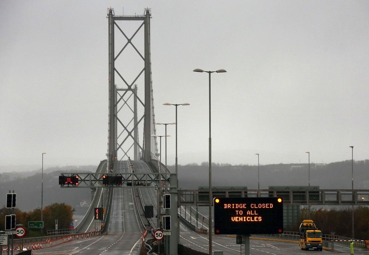 Forth Road Bridge (David Cheskin/PA Wire)