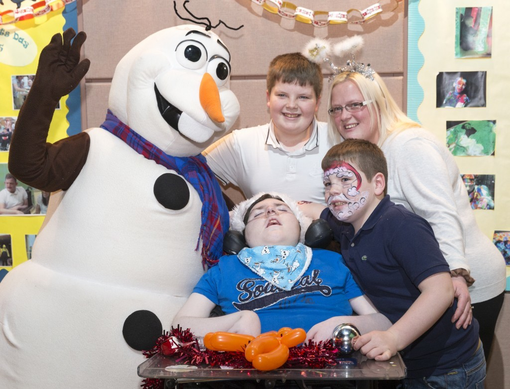 Olaf the snowman came along to CHAS (Stuart Walker)