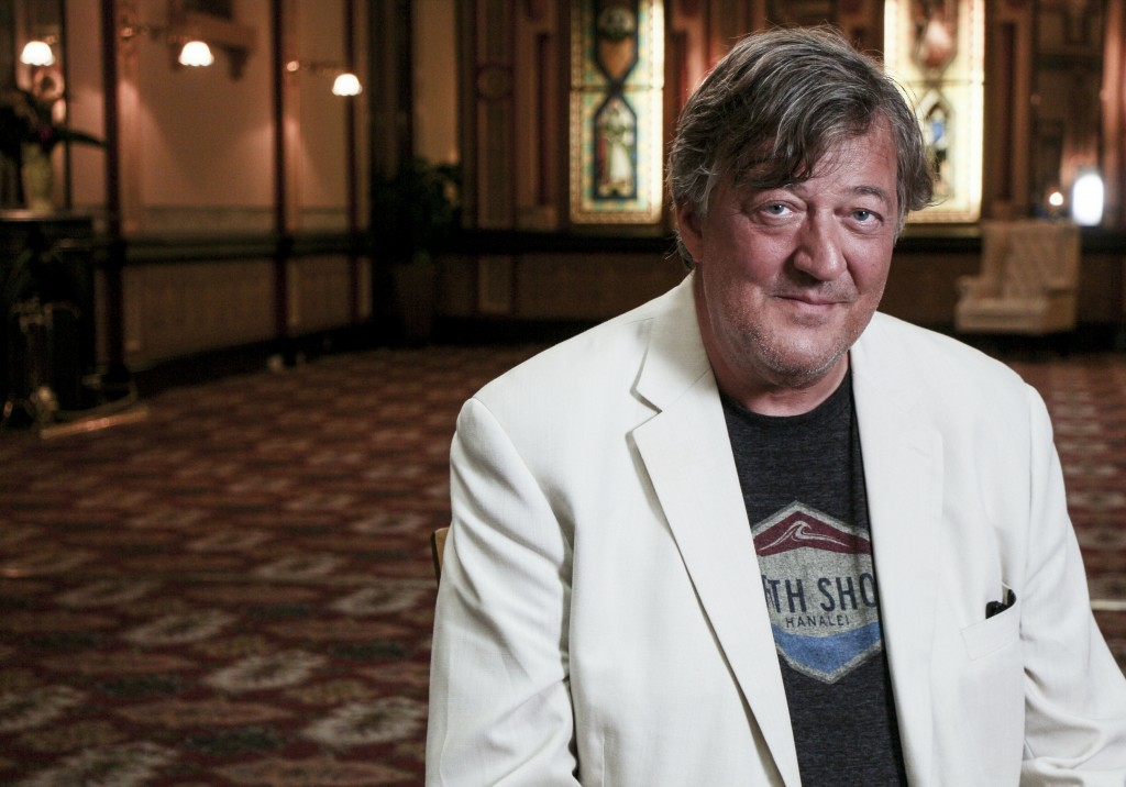 Stephen Fry (BAFTA/Whizz Kidd Entertainment)