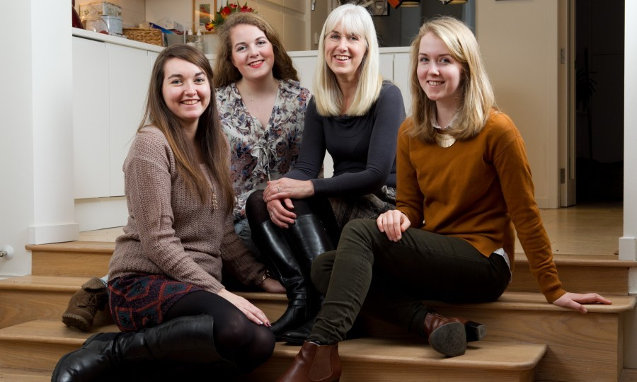 Hannah , Jess, Sally and Bethany (L-R) (Andrew Cawley / DC Thomson)