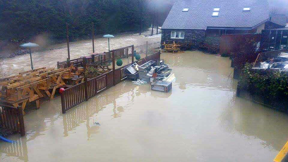 Cumbria has been badly affected by floods (PA)