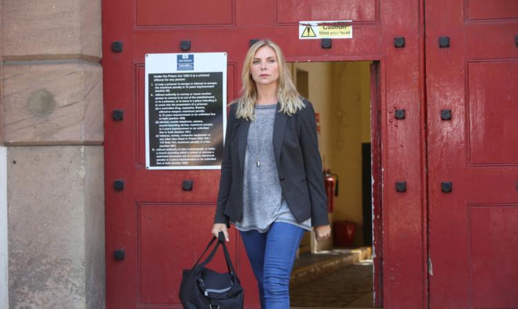 Samantha as Ronnie in Eastenders.