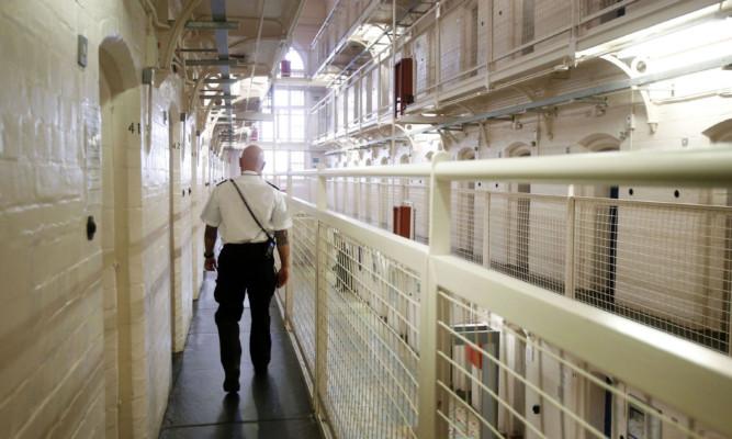 A Scottish prison (PA)