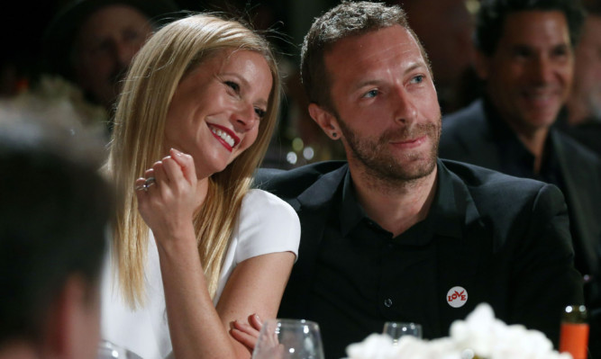 "Gwyneth Paltrow and Chris Martin ""consciously uncoupled."""