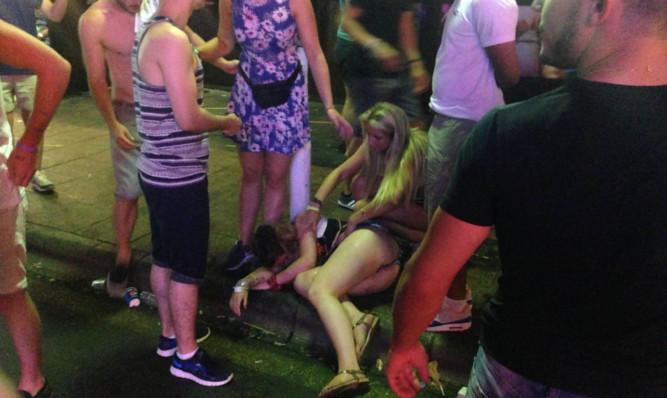 Think drunk teens were