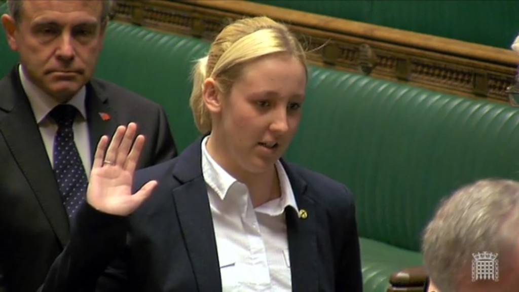Sworn in to Parliament