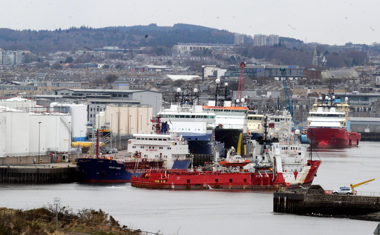 Aberdeen Harbour (Jim Irvine / Press & Journal)