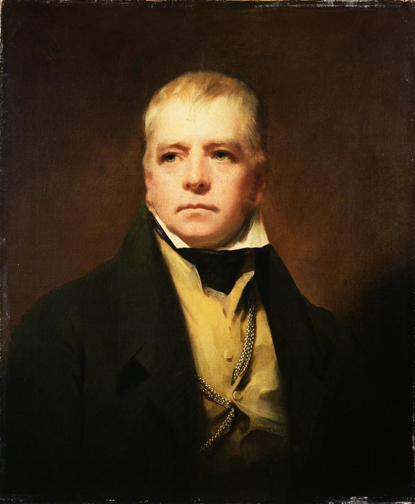 Sir Walter Scott is behind the term 'weegie'...
