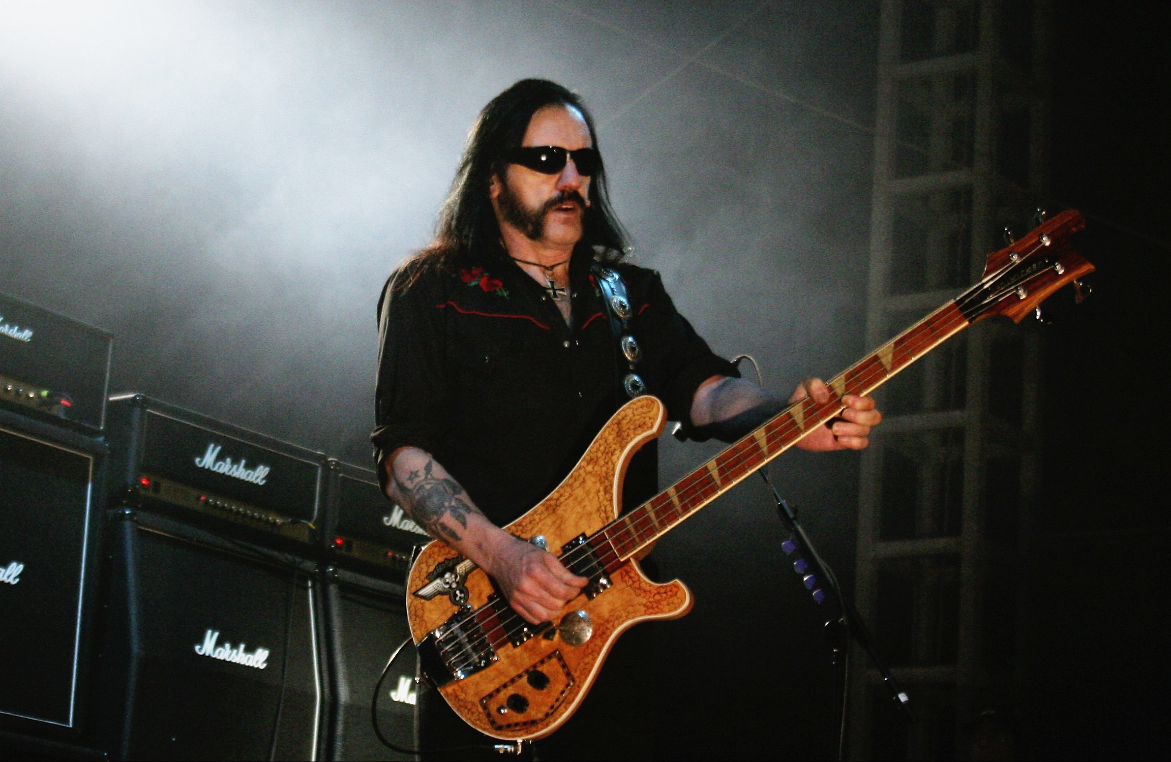 Lemmy performing in 2005 (Dave Etheridge-Barnes/Getty Images)