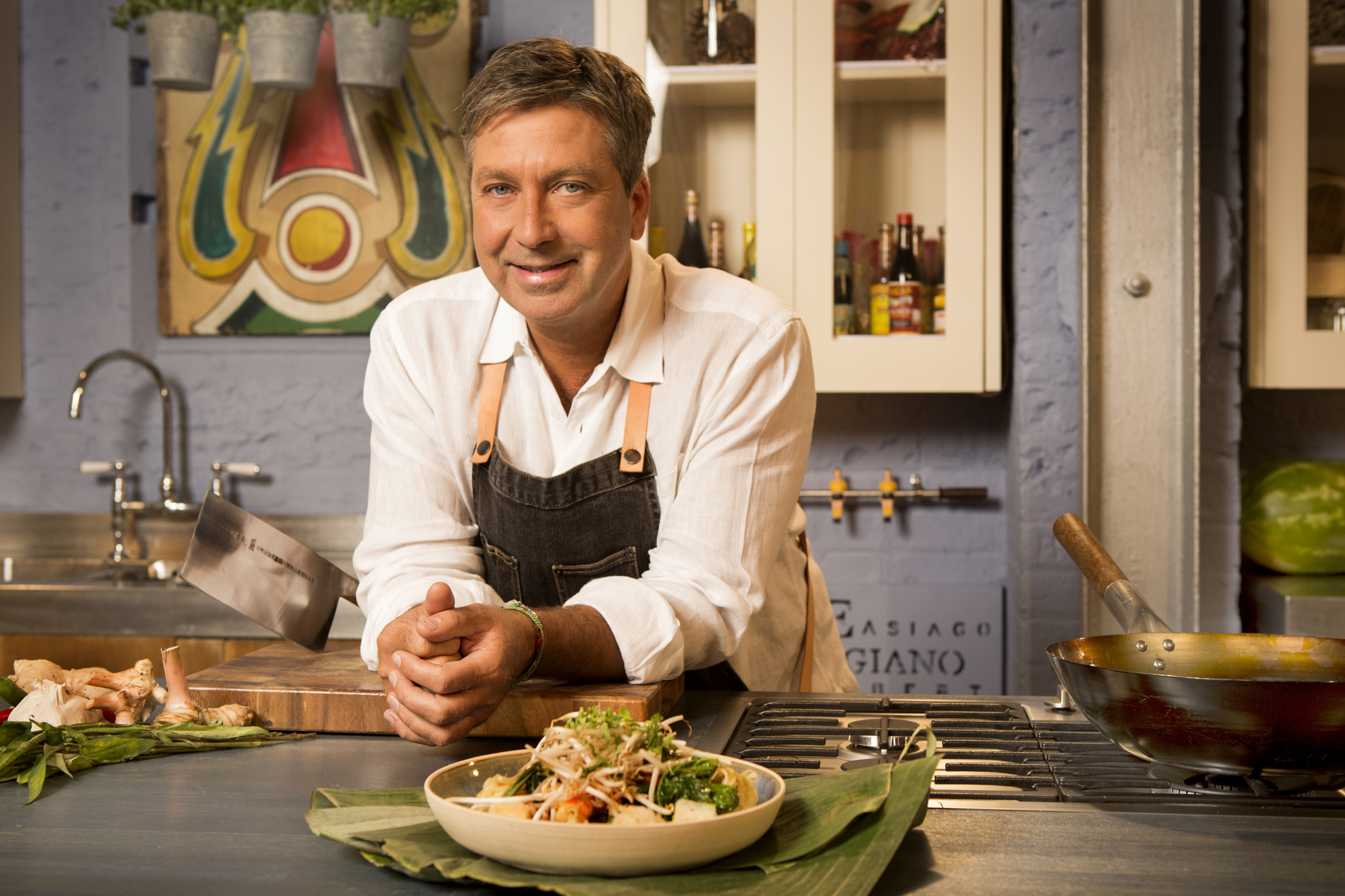 John Torode (Stephen Perry Photography/UKTV)