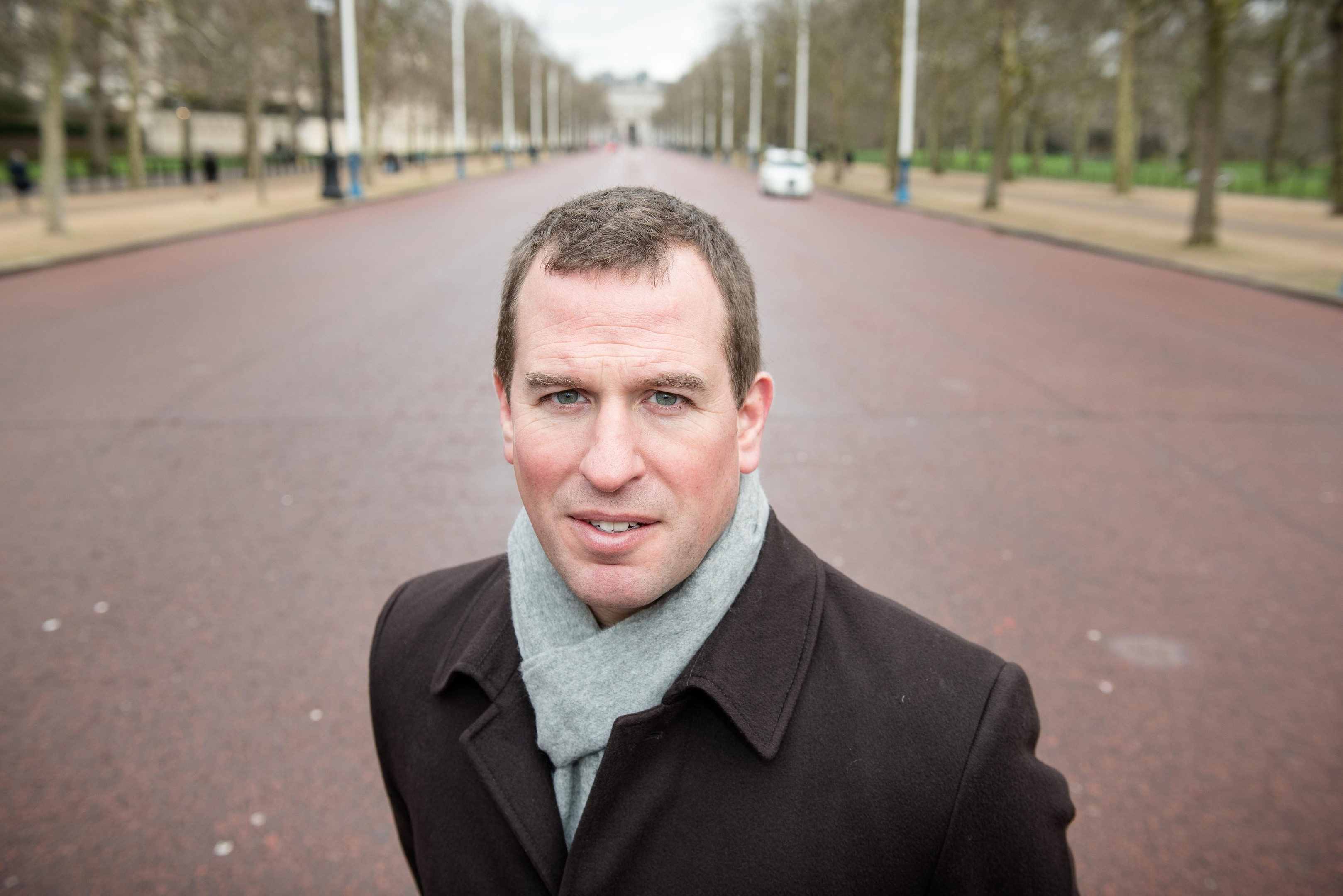The Queen's grandson Peter Phillips announced details of The Mall street party (John Nguyen/Daily Mail/PA Wire)