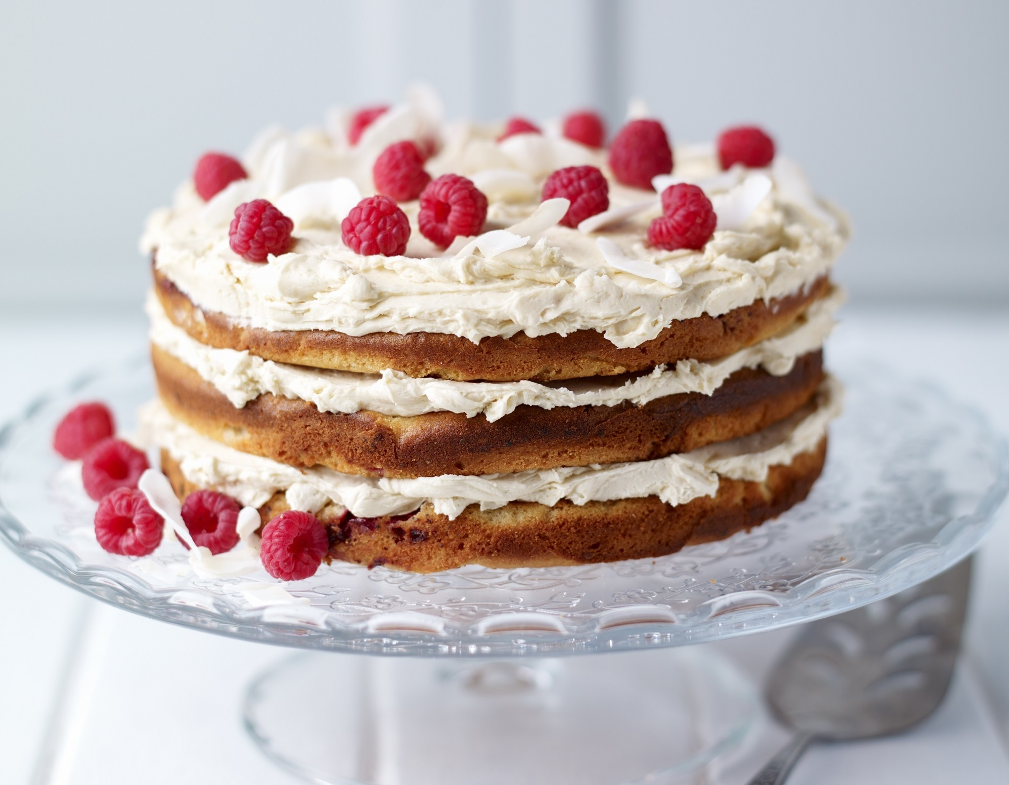 Bake of the Week: Raspberry & Coconut Layer Cake - Sunday Post