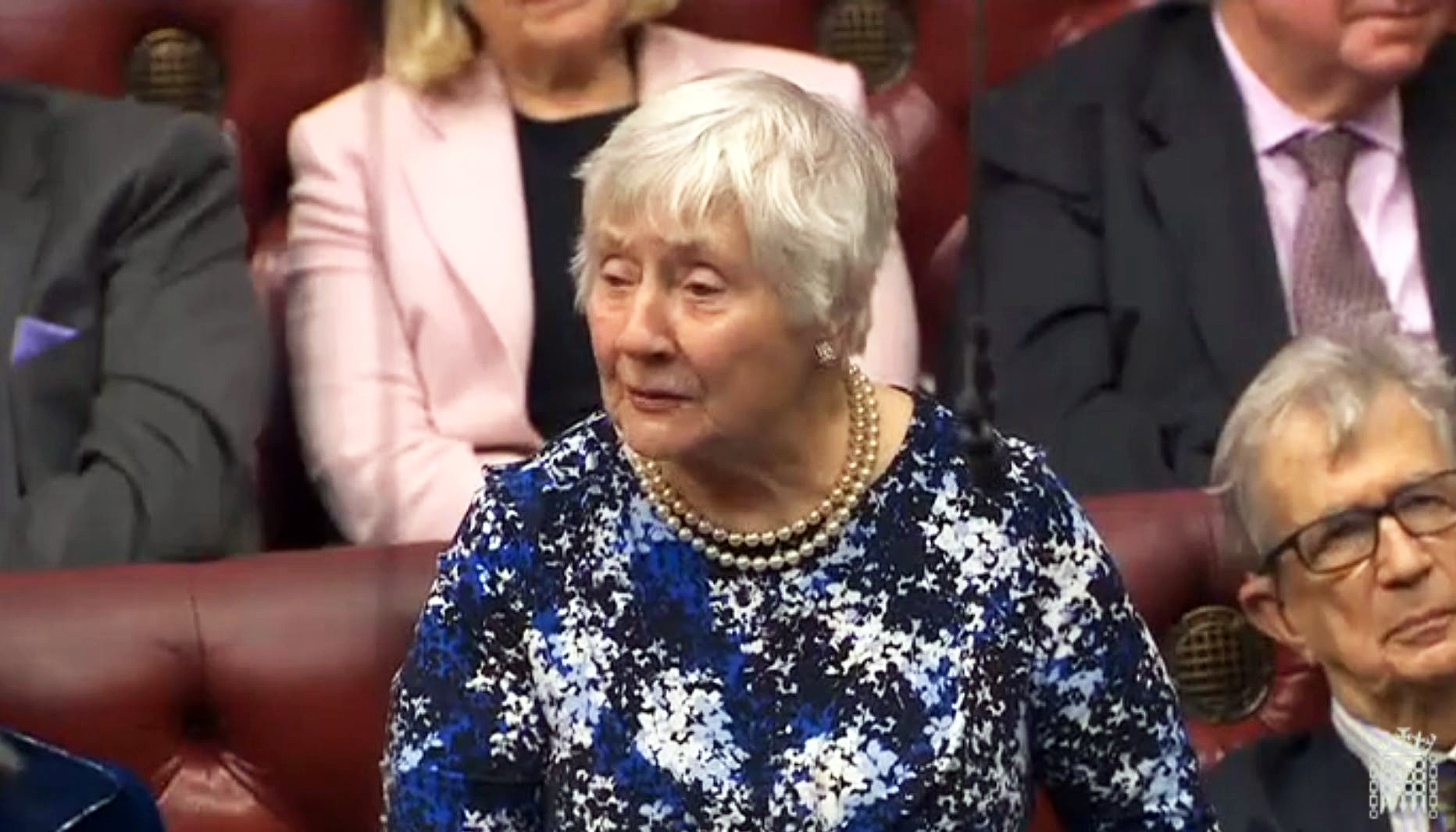 Shirley Williams makes her final speech in the House of Lords