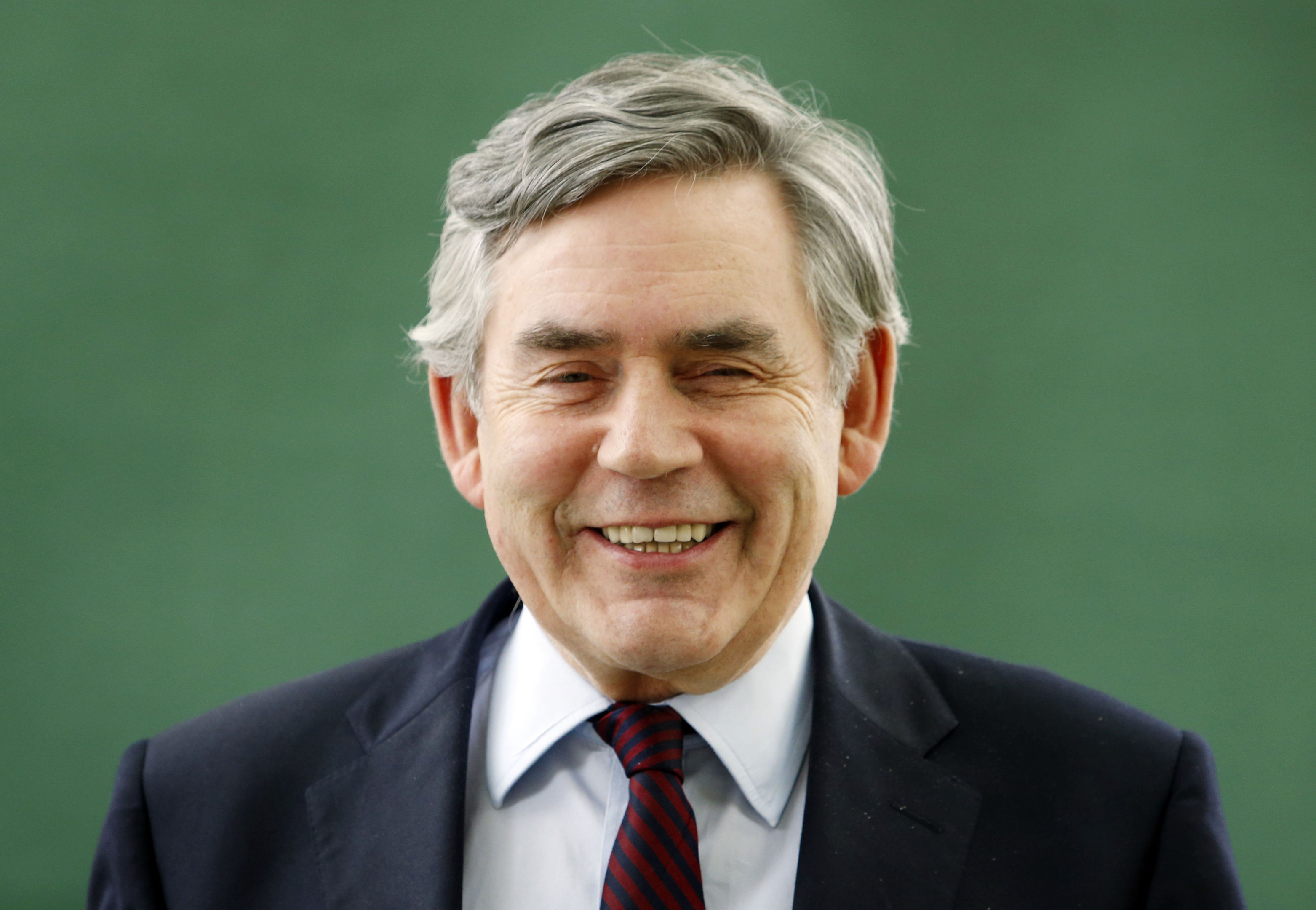 "Gordon Brown who says that Scotland could achieve a clear 70% majority in favour of staying in Europe if campaigners put forward a ""positive, principled, progressive and patriotic"" case. (Danny Lawson/PA Wire)"