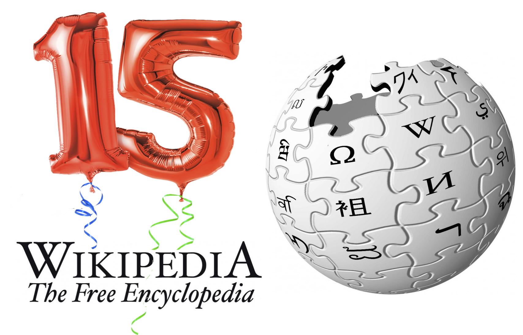 Wikipedia turns 15