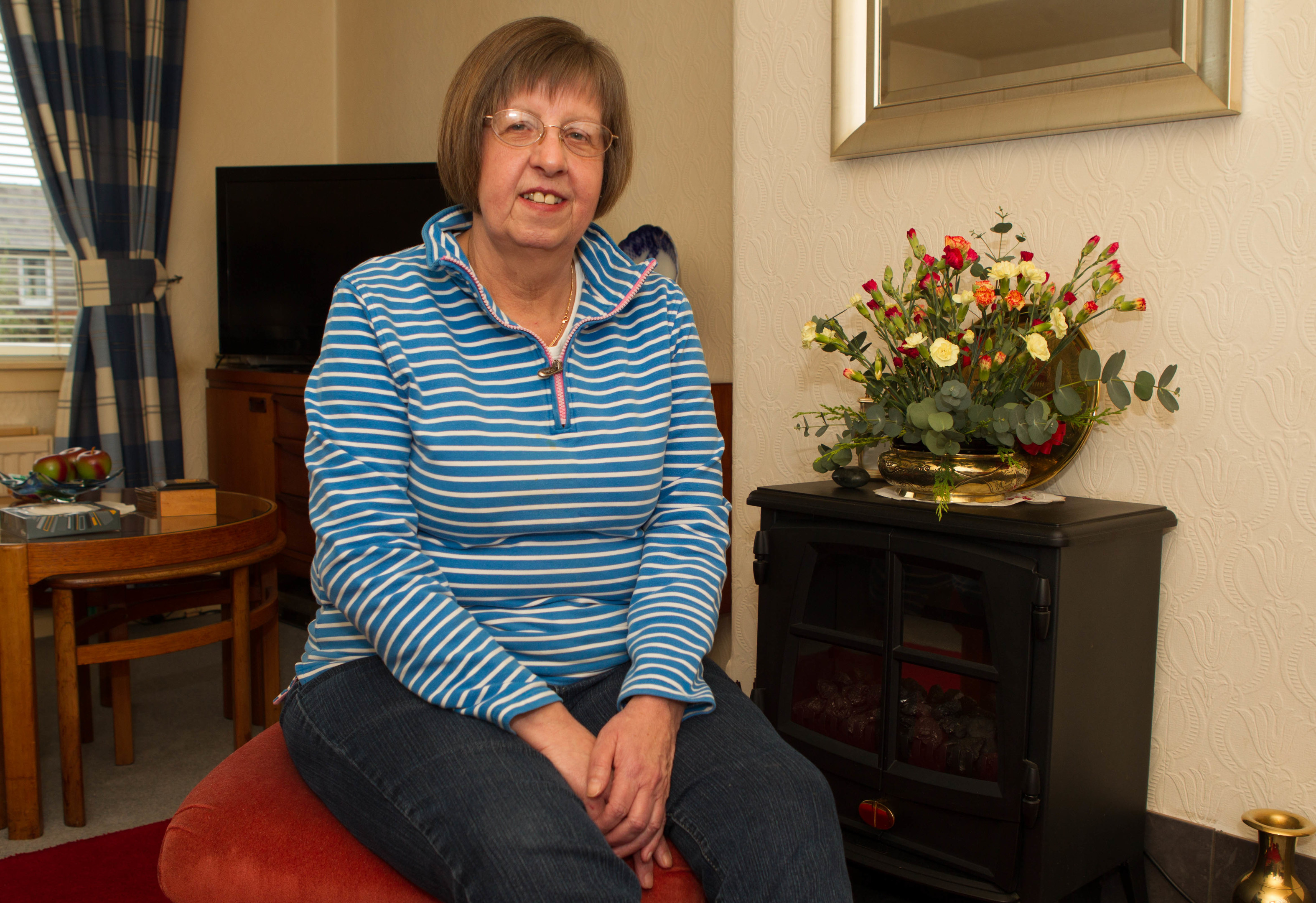 Alison Webster suffers from CRPS - chronic pain (Chris Austin / DC Thomson)