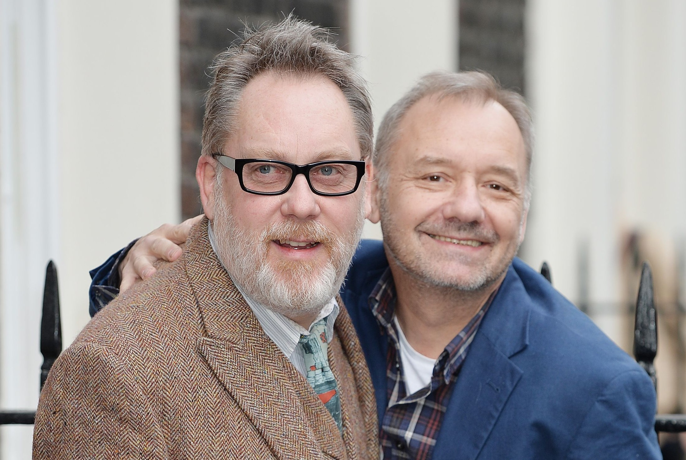 Vic Reeves (left) and Bob Mortimer (John Stillwell / PA Wire)