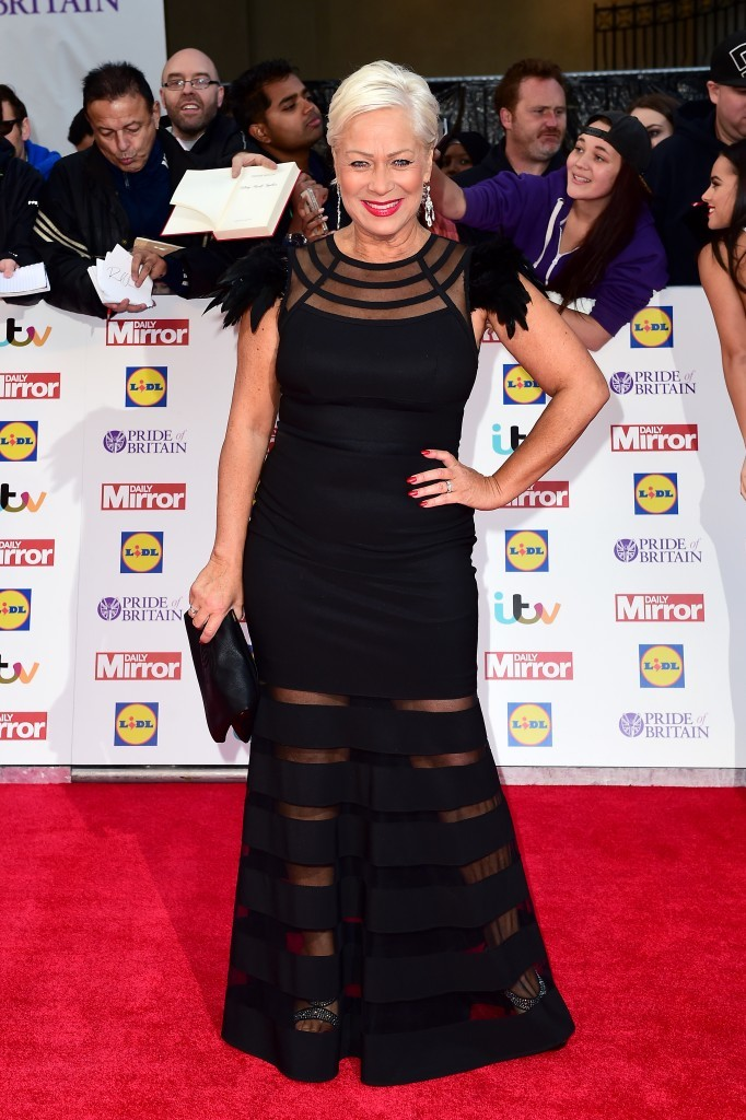 Denise Welch arriving for The Pride of Britain Awards 2015 (Ian West/PA Wire)