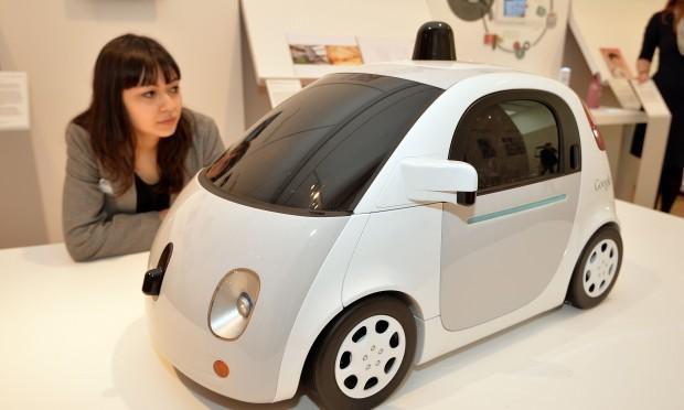 Google's driverless car (John Stillwell/PA Wire)