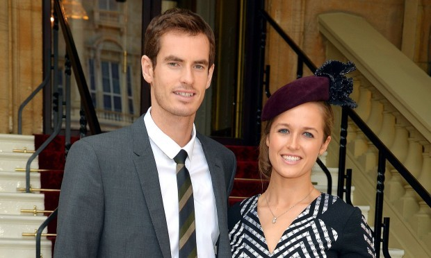 Andy Murray and Kim Sears (John Stillwell/PA Wire)