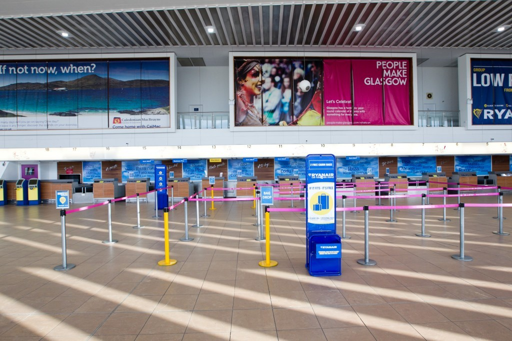 Low numbers of passengers are using the airport (Andrew Cawley / DC Thomson)
