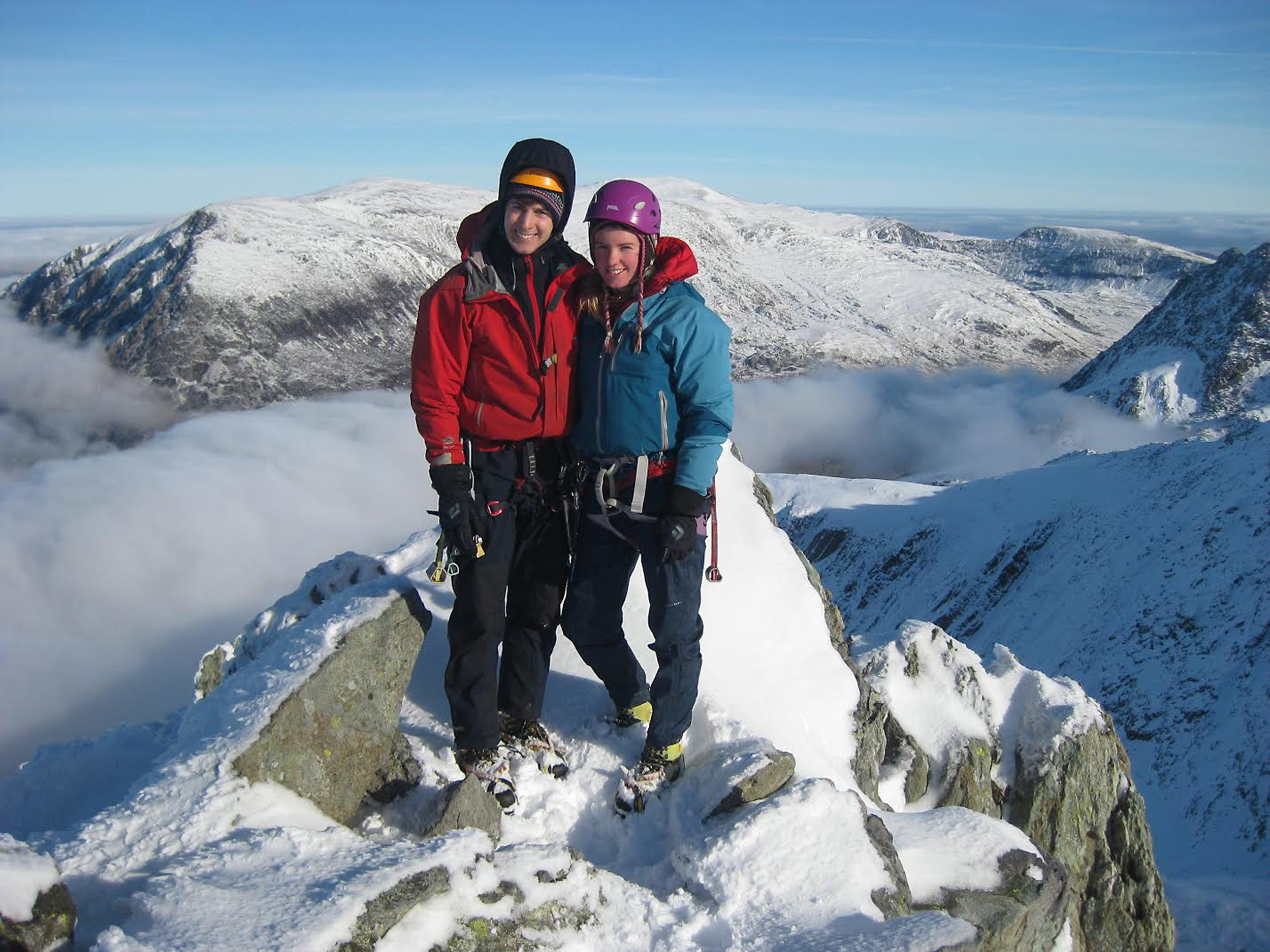Rachel Slater and Tim Newton who are missing on Ben Nevis (Police Scotland/PA Wire)