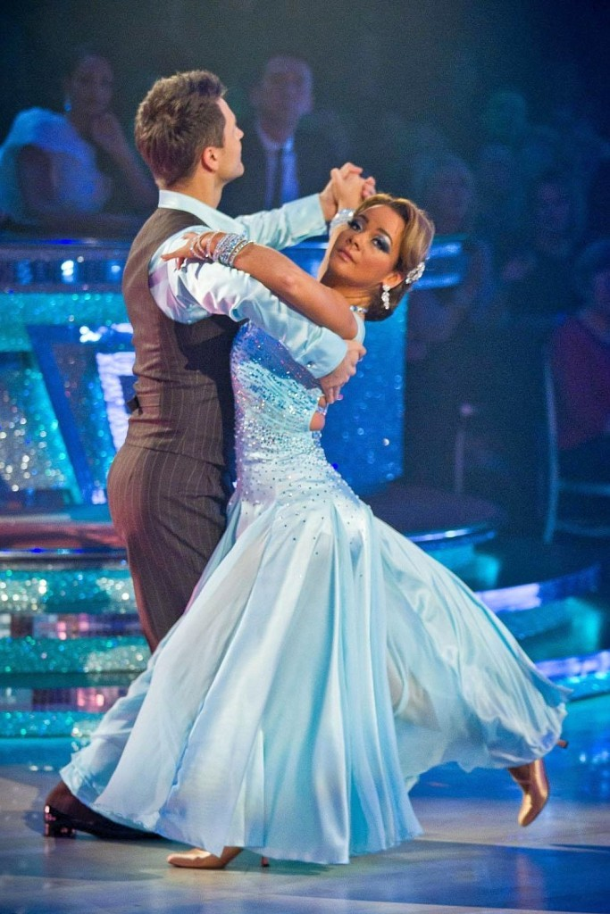 Chelsee on Strictly (BBC)