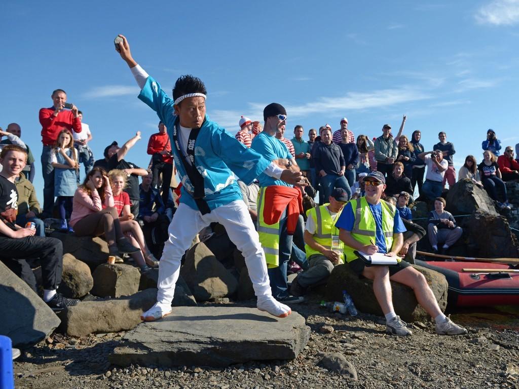 The World Stone Skimming Championships