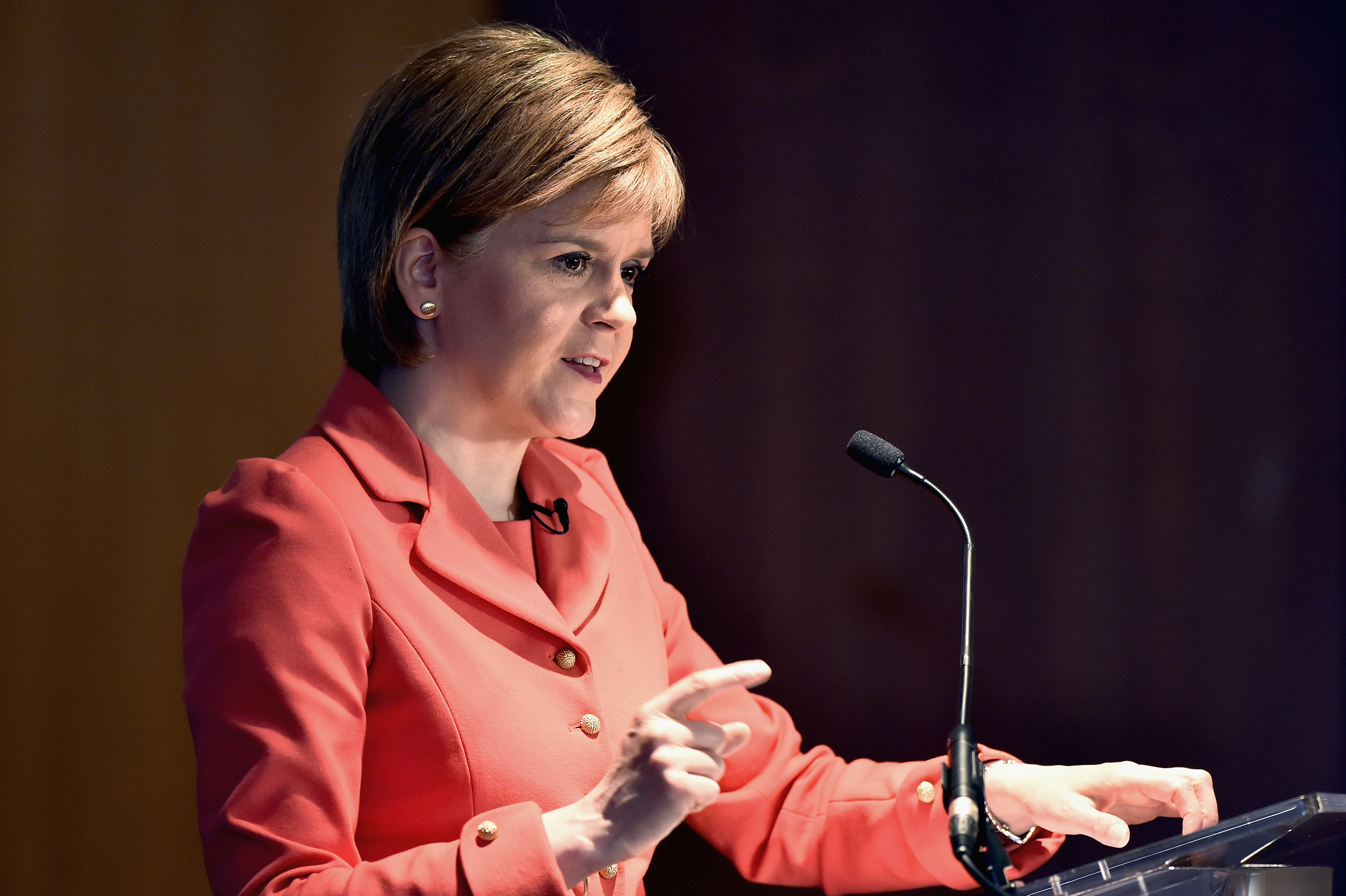 First Minister Nicola Sturgeon says she won't sign up to a bad deal for Scotland (Jeff J Mitchell/Getty Images)