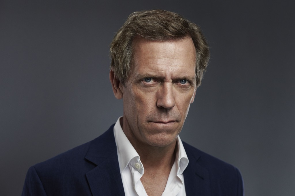 Hugh Laurie plays ruthless Roper in The Night Manager