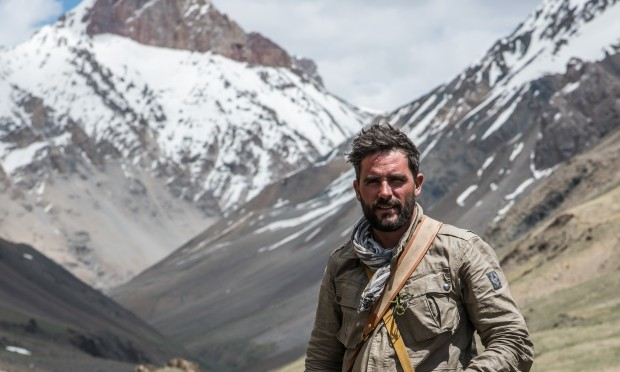 """Levison Wood tells the story of his mountain trek in his book """"Walking the Himalayas"""" (Tom McShane)"""