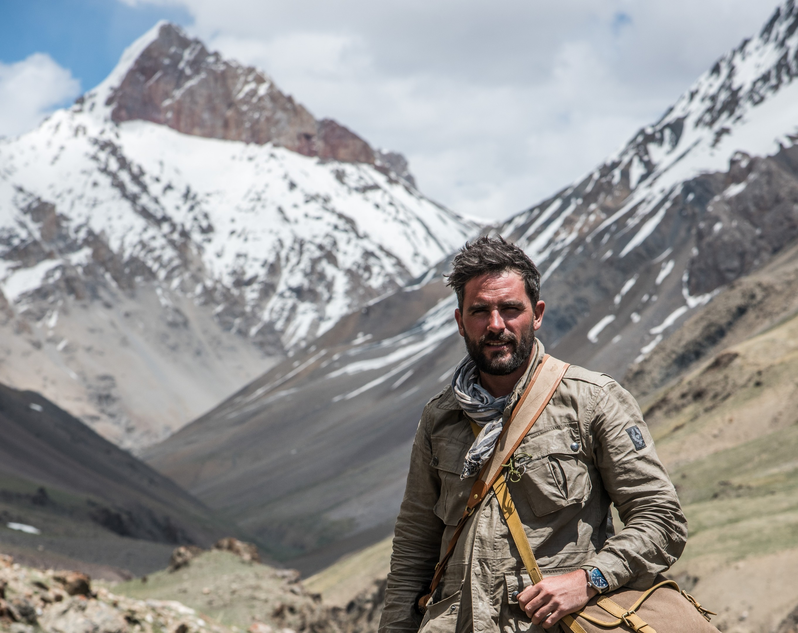 "Levison Wood tells the story of his mountain trek in his book ""Walking the Himalayas"" (Tom McShane)"