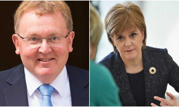 Mundell and Sturgeon (Dominic Lipinski / PA Wire &Jeff J Mitchell / Getty Images)