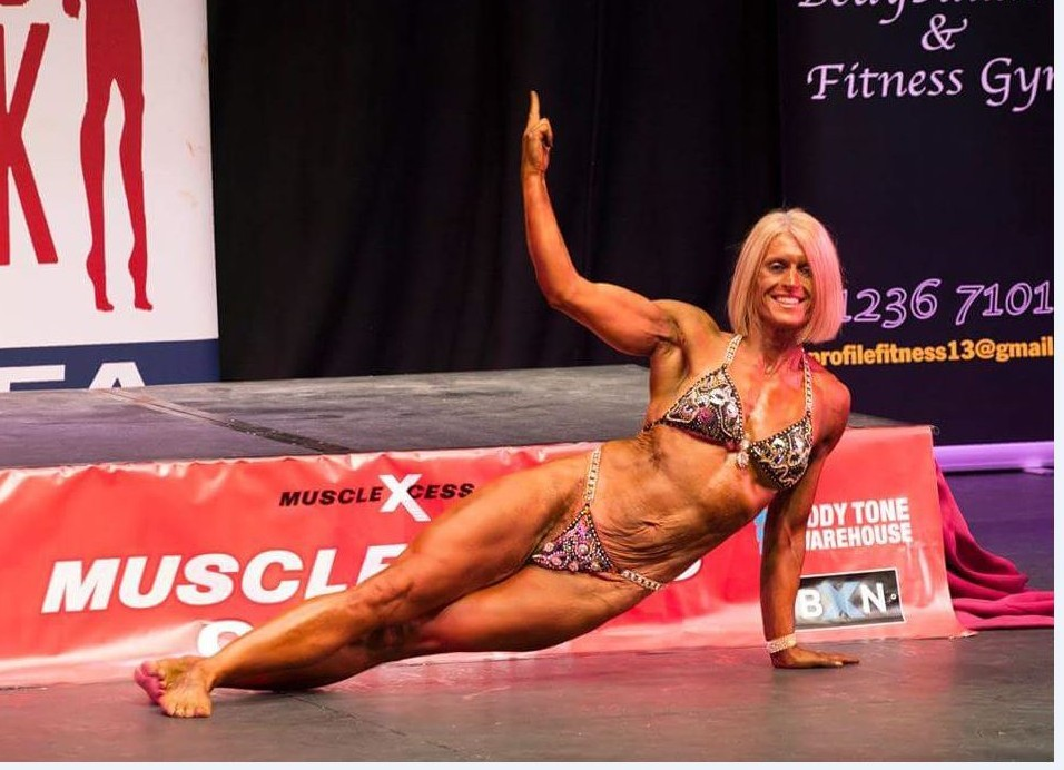 Muscle mum Lesley Ravenscroft is one of Scotland's top female weight lifters