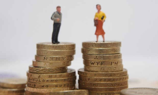 Female civil servants in the Department for Education (DfE) are paid almost £2 an hour less than men, equivalent to almost £4,000 a year (PA)