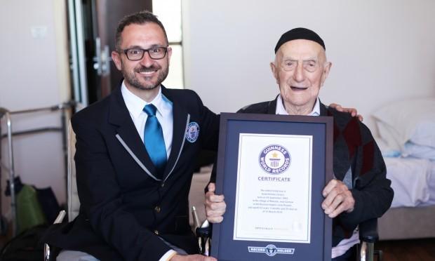Polish-born Israel Kristal (PA)