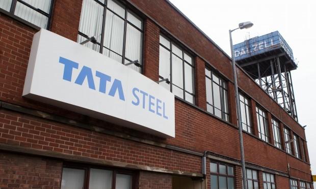 Tata steelworks, Motherwell (Chris Austin / DC Thomson)