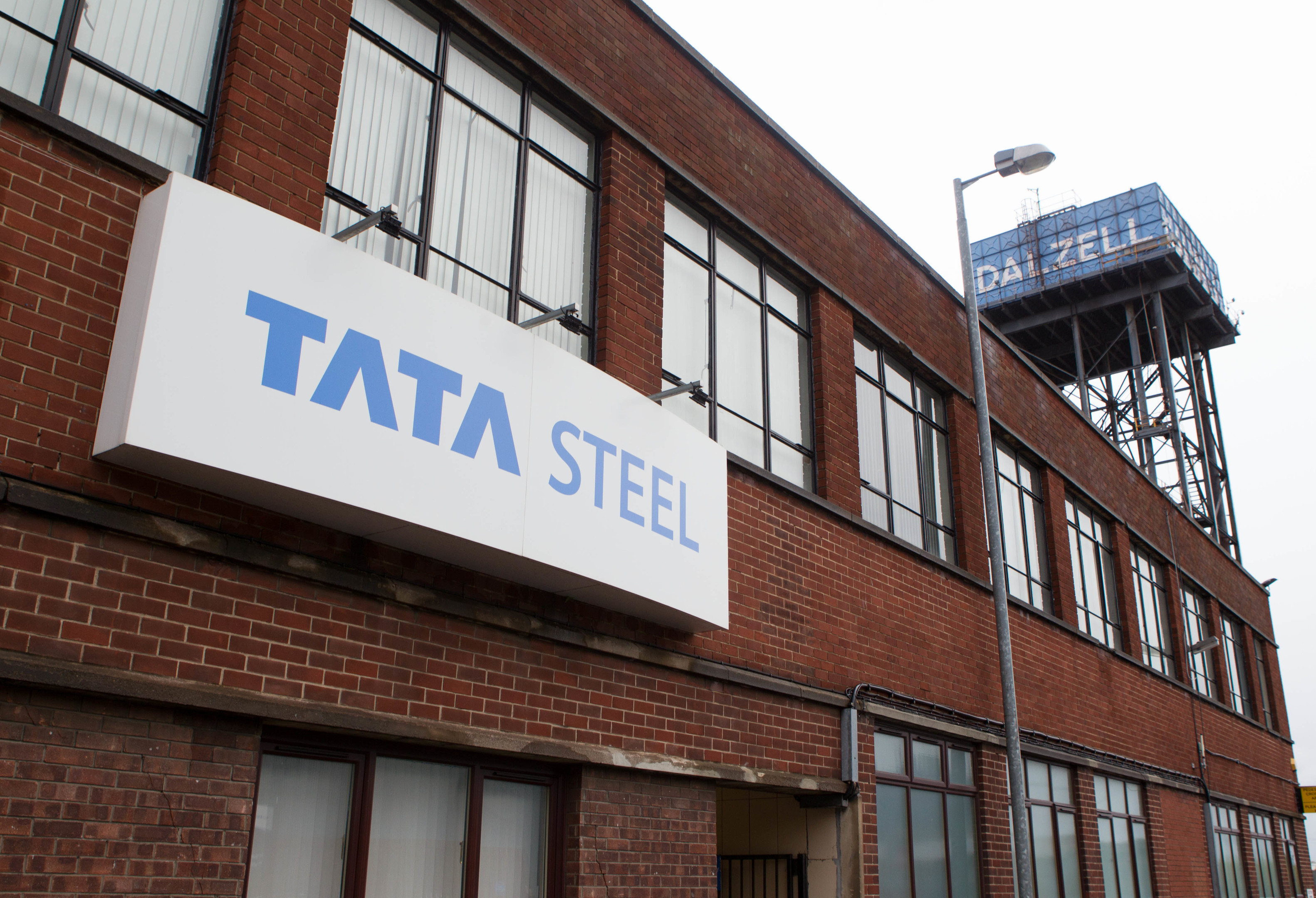 Tata steelworks, Motherwell (Chris Austin / DC Thomson)